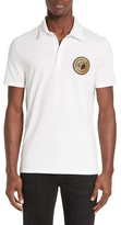 Versace Men's Medusa Patch Polo