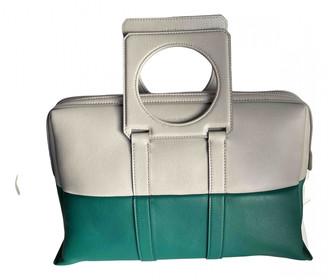 Elena Ghisellini Green Leather Handbags