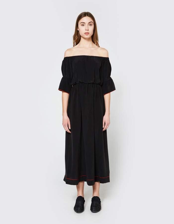 Ganni Grace Silk Dress