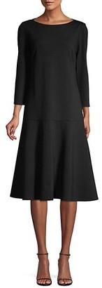 Lafayette 148 New York Martha Drop Waist Dress