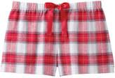 Joe Fresh Women's Flannel Sleep Shorts, Print 1 (Size S)