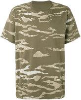 MHI camouflage slouch T-shirt - men - Cotton - XL