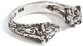 Pamela Love Sterling Silver Small Bear Ring