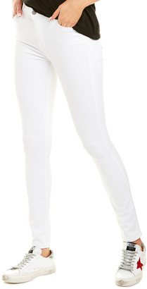 J Brand Maria White High-Rise Skinny Leg