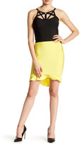 Wow Couture Ruffle Bodycon Skirt