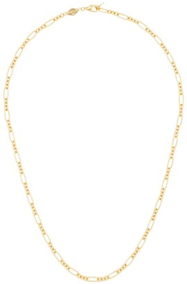 Anni Lu 18kt gold plated brass Lynx necklace