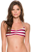 Roxy Reversible Halter Tri Liberty Stripe Bikini Top
