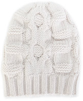 Malo cable knit beanie