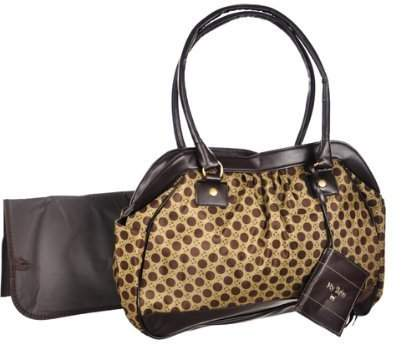 Baby Essentials Circle Fashion Diaper Bag, Sage by