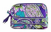 Vera Bradley Small Cosmetic Heather