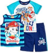 Nickelodeon Paw Patrol Top, T-Shirt & Shorts Set, Toddler & Little Boys (2T-7)