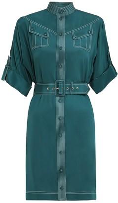 Zimmermann Silk Utility Mini Dress