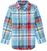 Ralph Lauren Poplin Shirt, Toddler Girls (2T-4T) & Little Girls (2-6X)