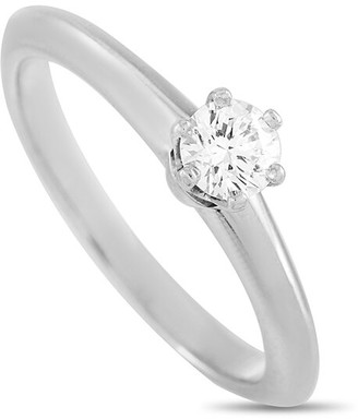 Heritage Tiffany & Co. Tiffany & Co. Platinum 0.20 Ct. Tw. Diamond Engagement Ring