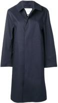 MACKINTOSH Navy Bonded Cotton Coat LR-089