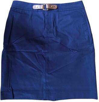 Lauren Ralph Lauren Navy Cotton Skirt for Women