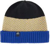 Jean Bourget Woollen jacquard knit hat