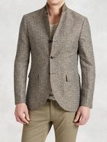 John Varvatos Linen Cotton Cutaway Jacket
