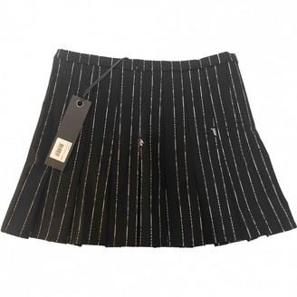 I.AM.GIA Black Polyester Skirts