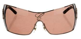 Chopard Embellished Shield Sunglasses