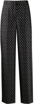 Markus Lupfer Cameron Star silk trousers