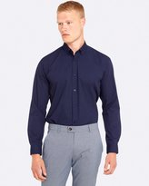 Oxford Stratton Printed Regular Fit Shirt