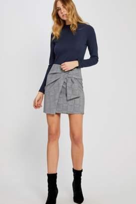 Gentle Fawn Plaid Mini Skirt