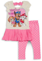 Nannette Girls 2-6x Little Girls Paw Patrol Graphic Tunic and Leggings Set