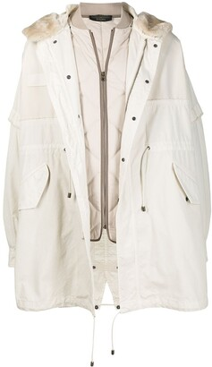 Mr & Mrs Italy x Nick Wooster hooded parka coat