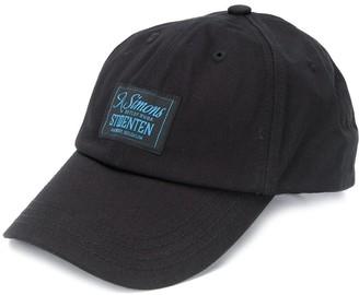 Raf Simons Logo Patch Cotton Cap