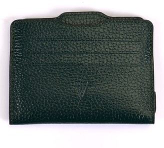 Atelier Hiva Double Card Holder Forest Green & Forest Green