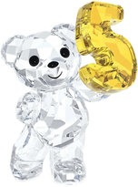 Swarovski Collectible Figurine, Number Five Kris Bear
