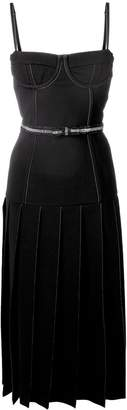 Thom Browne Wool Corset Skirt Dress