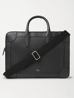 Mulberry Belgrave Full-Grain Leather Briefcase - Men - Black