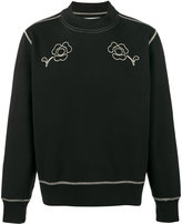 Our Legacy Splash embroidered sweatshirt - men - Cotton - 46