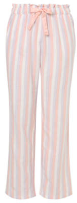 George Pink Shimmering Stripe Pyjama Bottoms