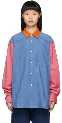 Comme des Garcons Multicolor Colorblocked Shirt