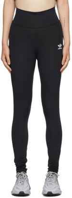 adidas Black High-Waisted Leggings