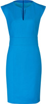 HUGO Turquoise/Aqua Wool Stretch Kacy Dress