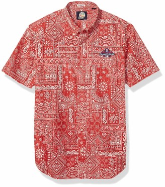 Reyn Spooner Men's Boston Red Sox MLB Tailored Fit Hawaiian Shirt