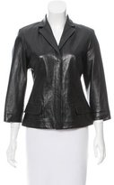 Narciso Rodriguez Casual Leather Jacket