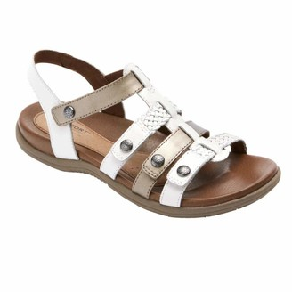 Cobb Hill RUBEY TSTRAP WHITE/MULTI