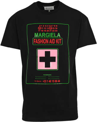 Maison Margiela fashion Aid Kit Print T-shirt