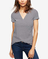 A Pea in the Pod Maternity Striped Pull-Down Nursing Top