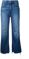 3x1 cropped flared jeans - women - Cotton/Spandex/Elastane - 27