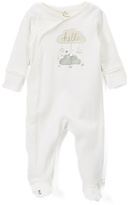 Baby Starters Ivory Cloud 'Hello' Footie - Infant