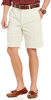 Roundtree & Yorke Big and Tall Flat Front Washed Cotton Shorts