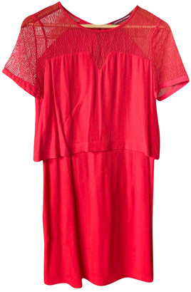 Comptoir des Cotonniers Red Dress for Women
