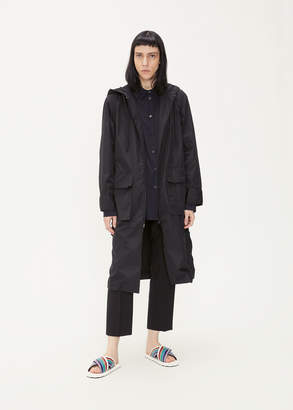 Marni Zip Up Hooded Long Jacket