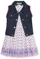 Self Esteem Jacket Dress Toddler Girls